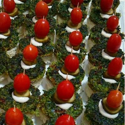 فینگرفود کوکو سبزی