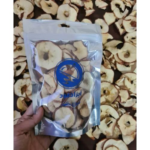 سیب سرخ خشک با پوست - 100 گرم