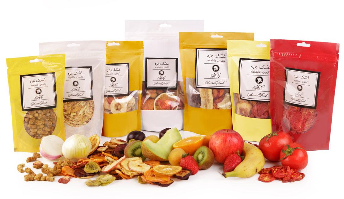 میوه خشک | خشکبار | پودر میوه