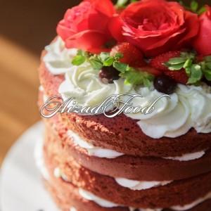 کیک رد ولوت آیزادفود