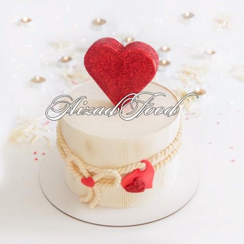 کیک قلب