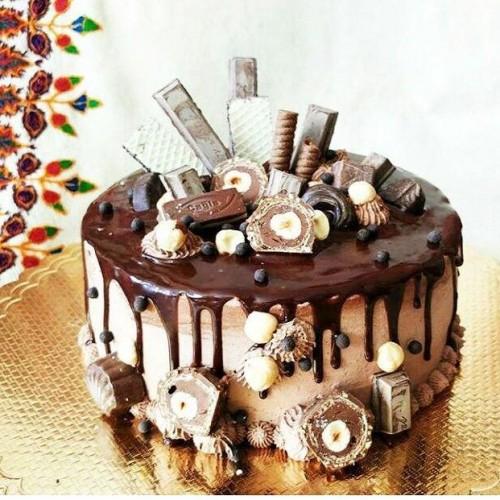 کیک چاکلت بار