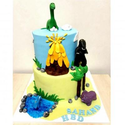 کیک دایناسور
