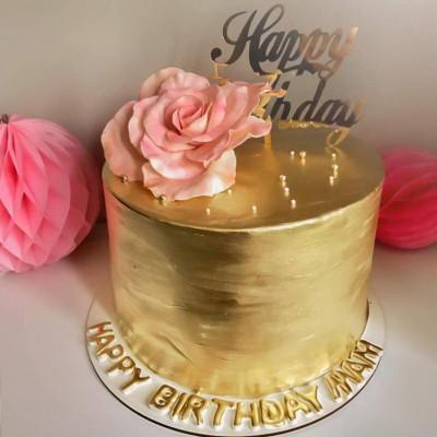 کیک گلد
