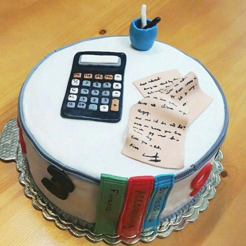کیک حسابدار