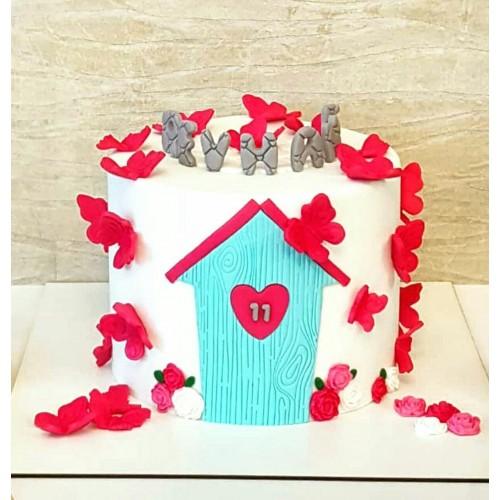 کیک خانه پروانه