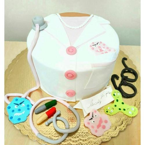 کیک خانم دکتر