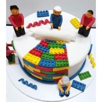 کیک لگو