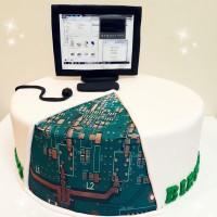 کیک مهندس کامپیوتر