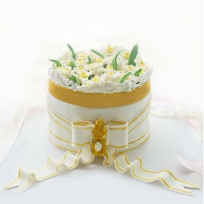 کیک نرگس