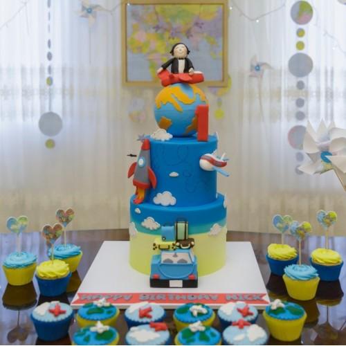 کیک سفر
