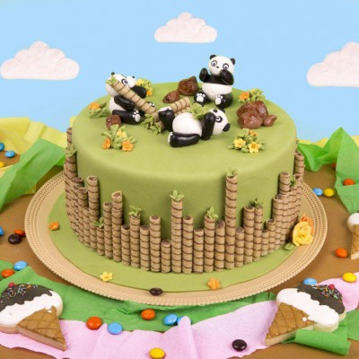 کیک پاندا