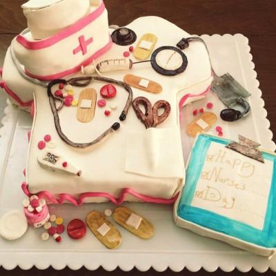 کیک پرستاری