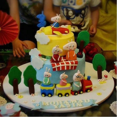کیک پپا پیگس