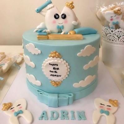 کیک دندونی پسرانه
