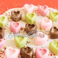 شکلات قلب رنگی