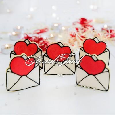 کوکی پاکت نامه عشق