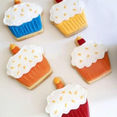 کوکی کیک تولد