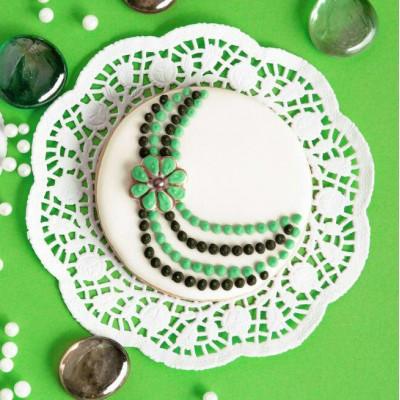 کوکی  جواهرات سبز