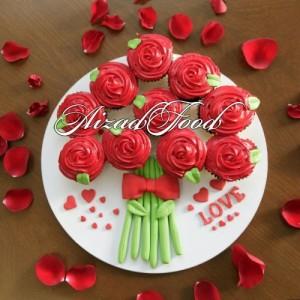 کاپ کیک رز