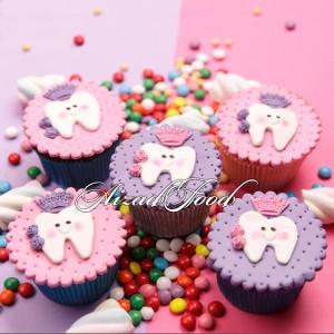کاپ کیک دندونی دختر