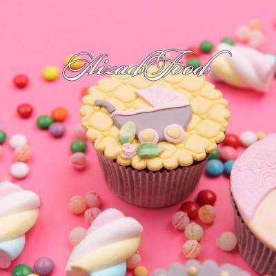 کاپ کیک نوزاد دختر