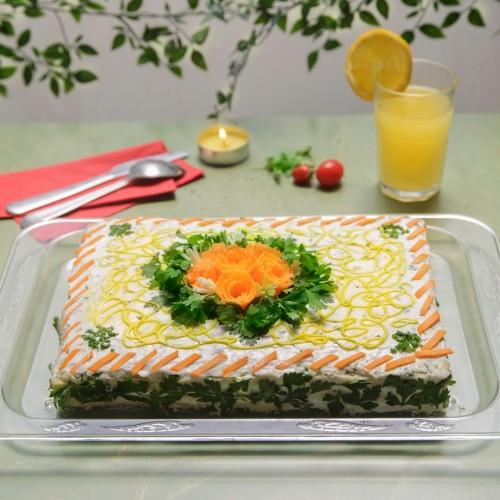 کیک مرغ