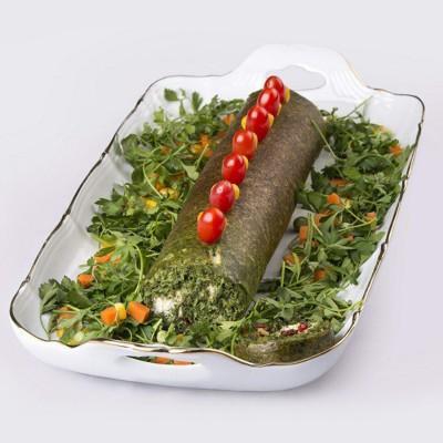 رولت کوکو سبزی