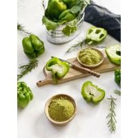پودر فلفل دلمهای سبز 100 گرمی